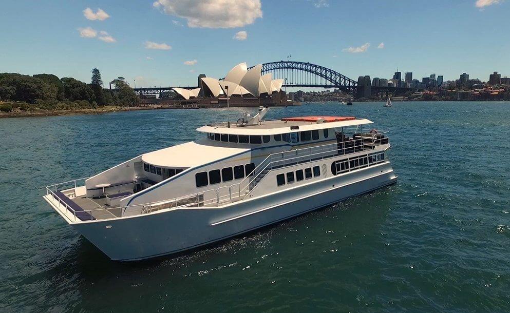 eclipse boat sydney harbour