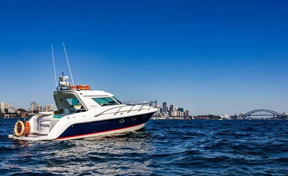 inception boat charter sydney harbour