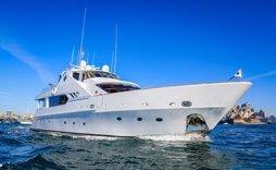 hugh white motor yacht