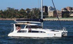 oceans boat sydney harbour