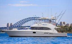 Pisces luxury fishing boat