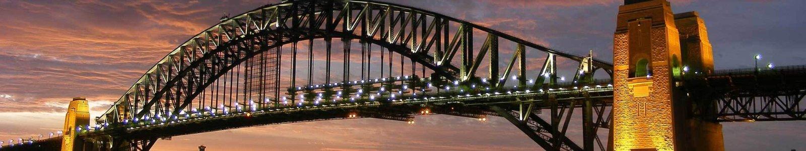 Sydney harbour bridge new south wales