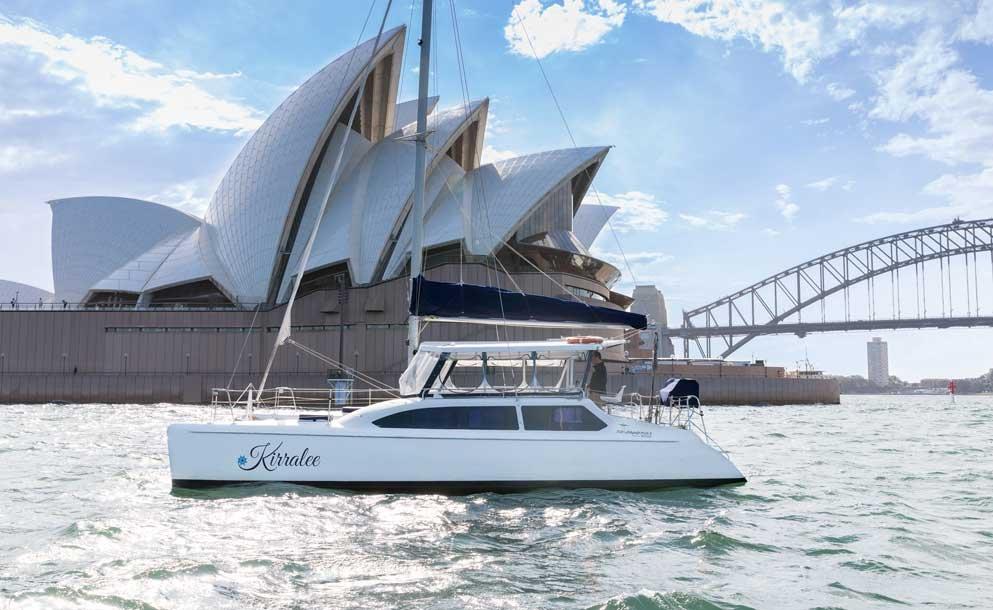 kirralee boat operahouse