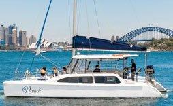 Nevaeh small catamaran