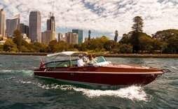 MV BEL boat cruising on Sydney Harbour